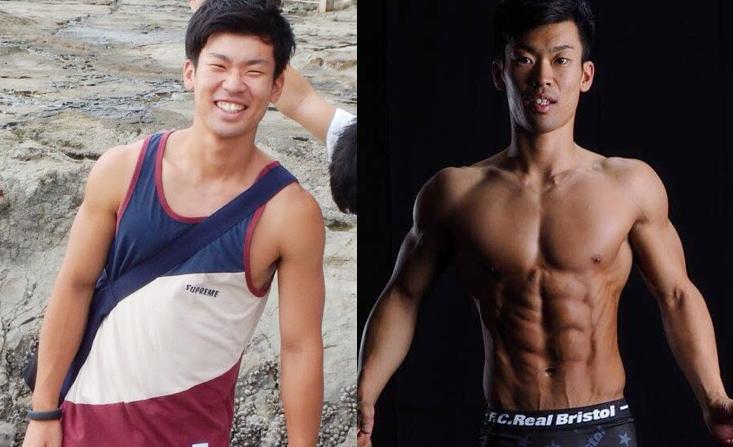1年3ヵ月間の杉村さんの体の変化