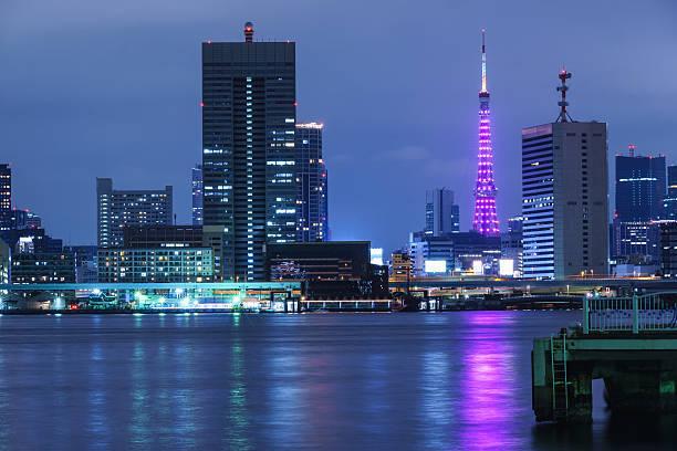 東京タワーのライトアップ(イメージです)