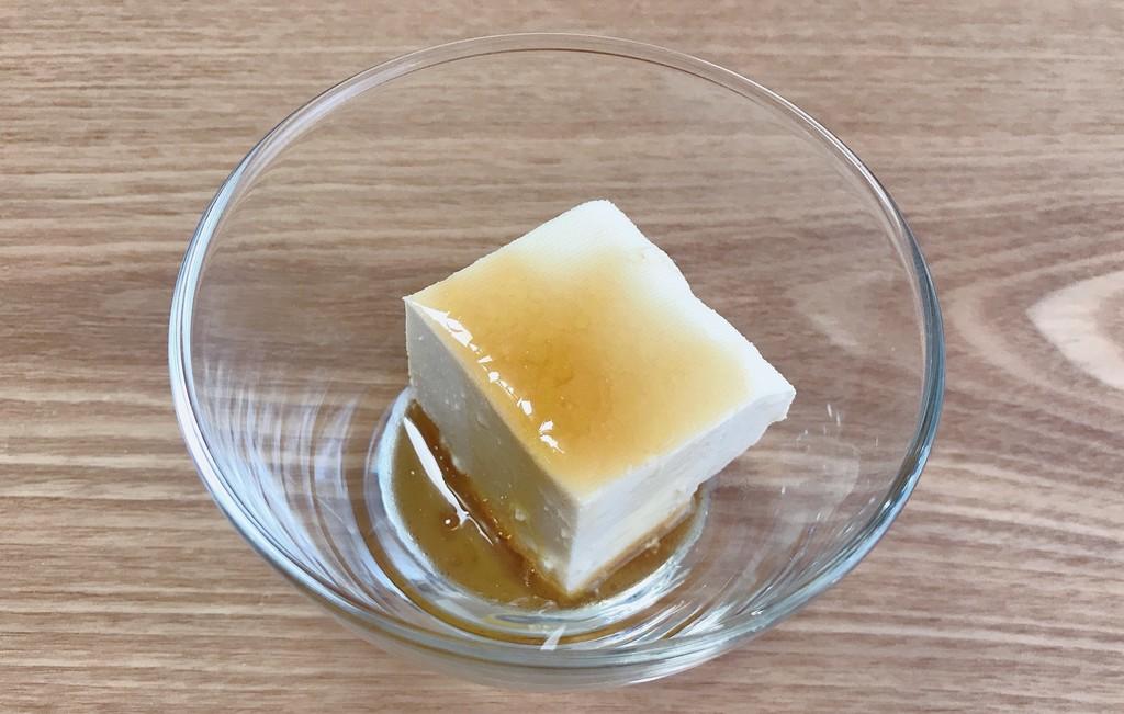 めんつゆ&オリーブオイルは冷奴にかけても美味しいですよ。