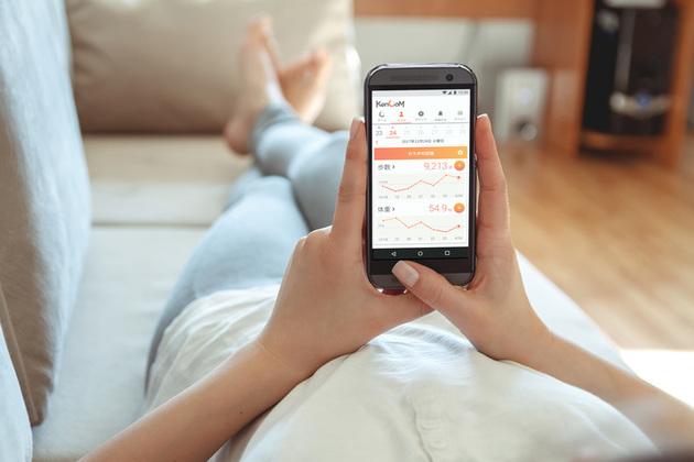 歩数や血圧をスマホでチェック!KenCoMユーザだけのアプリを使ってみよう
